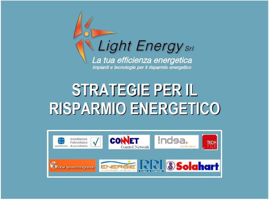 Strategie per il risparmio energetico copertina