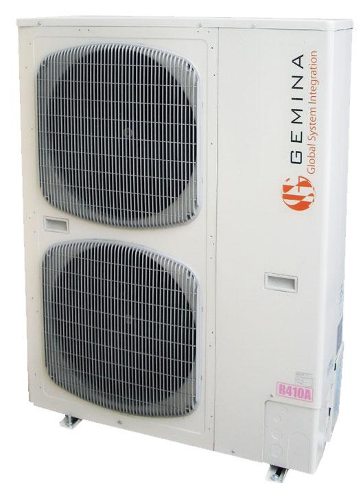 Unità esterna pompa di calore aria-acqua