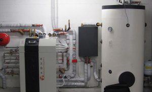 Centrale termica a pompa di calore gsi